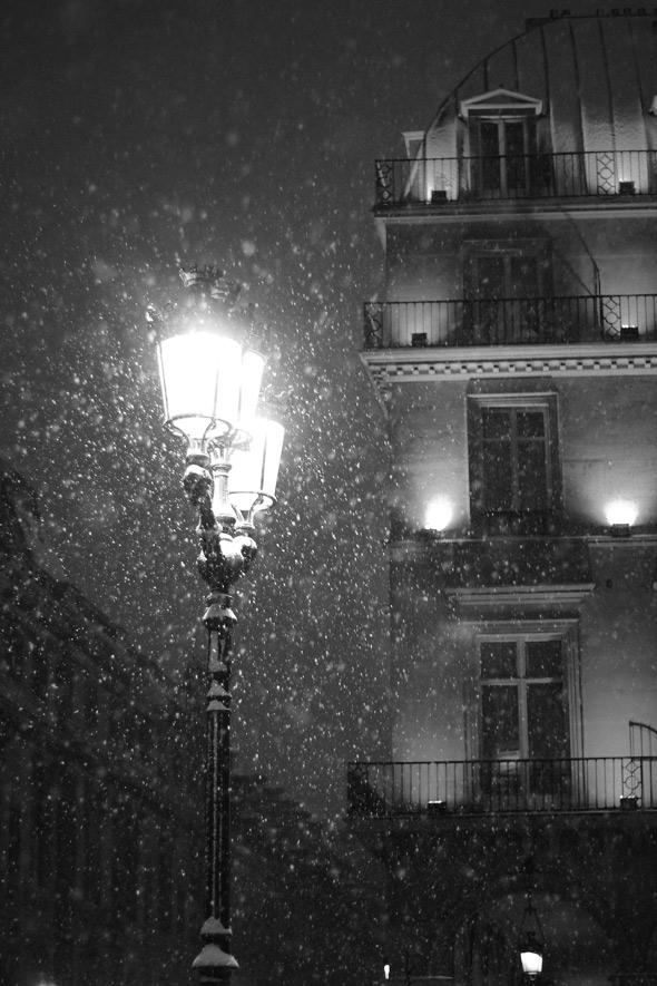 Snowy Paris | egg & dart