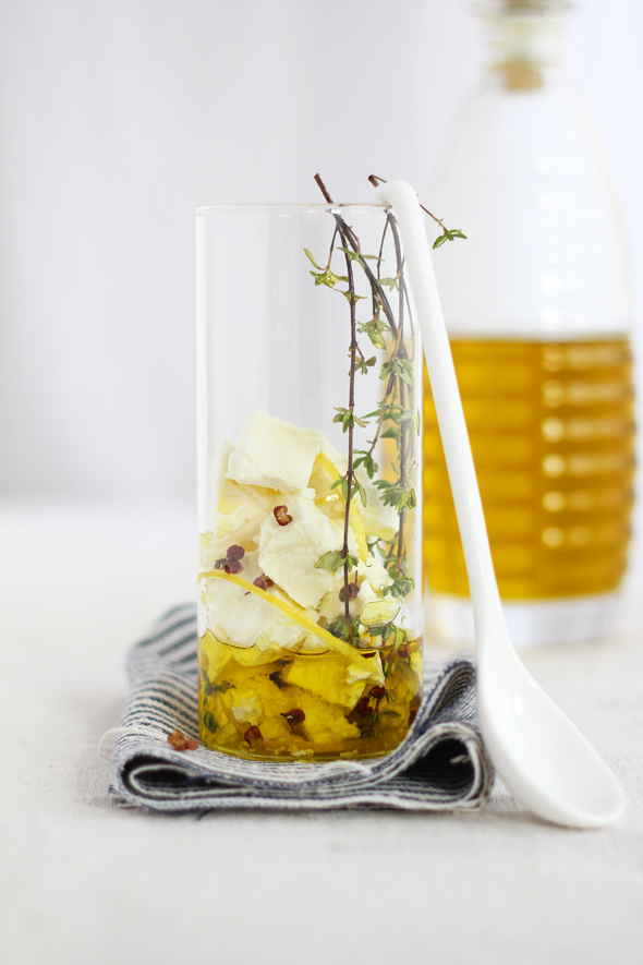 Marinated feta with winter flavors | egg & dart