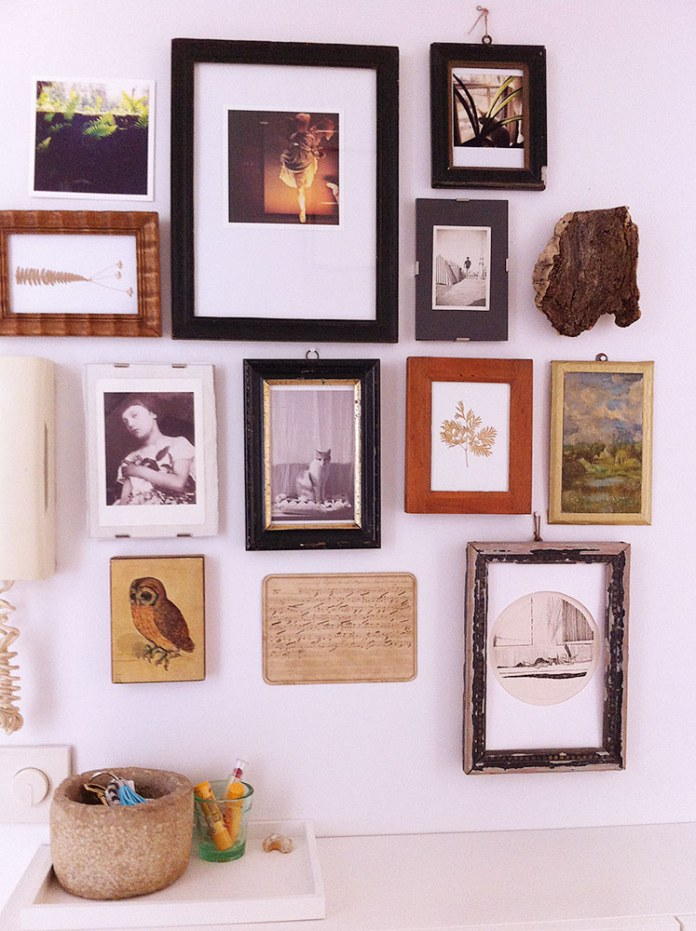 Hallway Gallery Wall | egg & dart blog